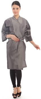 hair fashion smocks amazon com salon client gown robes cape hair salon smock for