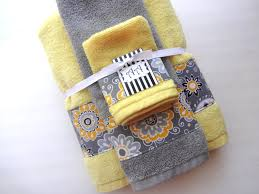 Gray And Yellow Bathroom by Bathroom Bath Towels Yellow Bathroom Towels