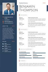 adobe resume template 40 best free resume templates 2017 psd ai doc adobe resume