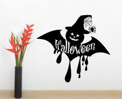 halloween decals holiday wall decals halloween decals bat vinyl stickers home decor