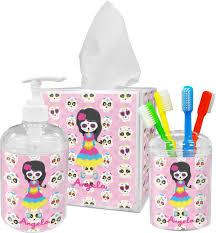 kids sugar skulls toothbrush holder personalized potty training