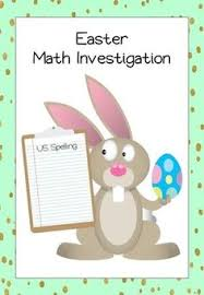 easter math problems free math worksheet for 4th grade