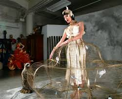 how to make a birdcage chandelier how to make a brass bird cage dress in twenty five easy steps 25