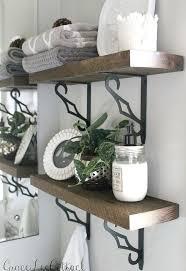 Bathroom Ideas Diy Diy Rustic Bathroom Shelves Hometalk