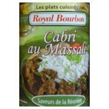 cabri massalé cuisine réunionnaise cabri au massalé royal bourbon 350g plaisirsreunion re
