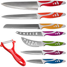 kitchen knive professional chef knife set multi use 8pc gift box for home kitchen