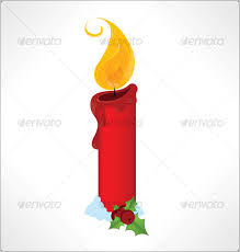 christmas candle by gizmer graphicriver