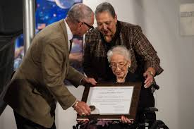how to write a research paper on a historical person katherine johnson the girl who loved to count nasa hidden figures premiere and award ceremony