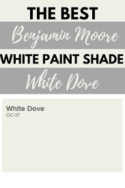 what is the most popular white for trim benjamin white dove oc 17 benjamin white