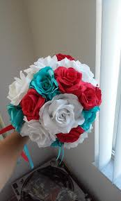 turquoise and red wedding decorations weddingbee