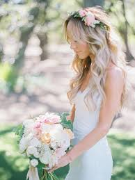 wedding flowers in hair 17 wedding hairstyles for hair with flowers