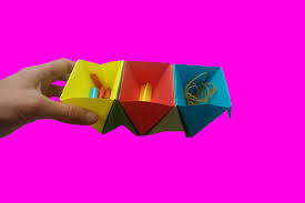 Origami Desk Organizer Diy Origami Desk Organizer Multi Storage Shelves Origami