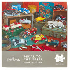 thanksgiving jigsaw puzzle pedal to the metal kiddie cars 550 piece jigsaw puzzle puzzles