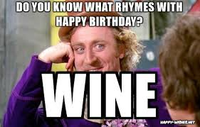 happy birthday wine memes happy wishes
