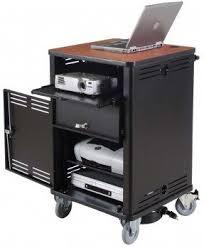 Computer Desk On Wheels Computer Desk With Wheels Visualizeus