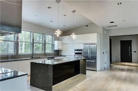 black cabinets granite counter tops impressive home design