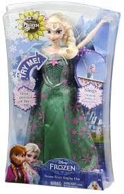 amazon com disney frozen fever singing elsa doll toys u0026 games