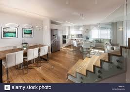 open plan house c8 alamy comp g0rk31 modern house modern open