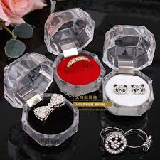 wedding gift jewelry rings box jewelry clear acrylic cheap boxes wedding gift box ring