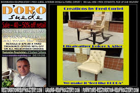 Patio Furniture Reupholstery by Long Beach Ca Restoration Reupholstery Custom Furniture Upholstery