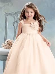 Flower Girls Dresses For Less - peach flower dresses sale wedding short dresses