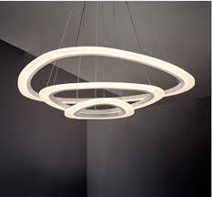 Diy Led Chandelier Zyy Diy Style 90 260v Modern Acrylic Fashion L Circular Design
