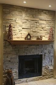 decorations cool brown wood mantel decorating with stone square
