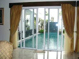 Patio Door Curtains Door Curtains Ideas Sliding Glass Door Curtain Ideas Kitchen Types