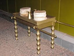 this is a replica of the altar of incense in the tabernacle at