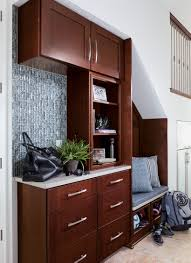 Mudroom Cabinets by 5 Drop Zone Ideas For The New Mud Room