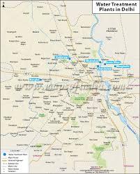 Metro Blue Line Map Delhi by Water Treatment Plants In Delhi Jpg