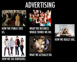 Advertising Meme - perceptions about the advertising business 3600 mhz