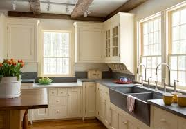 Farmhouse Kitchen Faucets 318910 L Aberdeen Smooth Offset Copper Farmhouse Sink Farmhouse