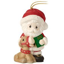 precious moments all things are possible santa ornament 9th in
