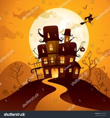 halloween haunted house stock vector 314693054 shutterstock