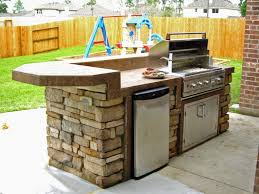 outdoor island kitchen modern outdoor kitchen cabinets decoration using backless solid