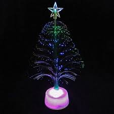 tree centerpiece decoration 11 inches fiberoptic
