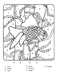 coloriage magique ce1 à colorier dessin à imprimer coloriages