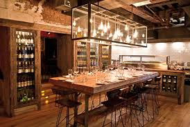 the chef table private dining room interior design of fraunces