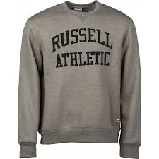 russell athletic crew neck tackle twill sweatshirt sportisimo com