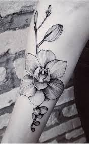 the 25 best orchid tattoo ideas on pinterest funky tattoos