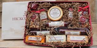 summer sausage gift basket our traditions including hickory farms simply southern
