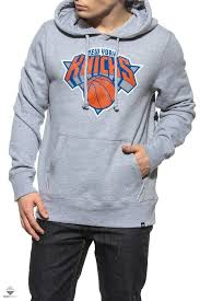 47 brand new york knicks hoodie grey 307131