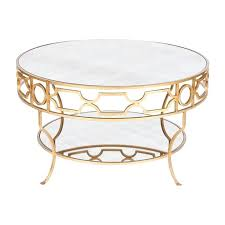 gold and glass coffee table gold glass coffee table round shape steel gold stained gold leaf