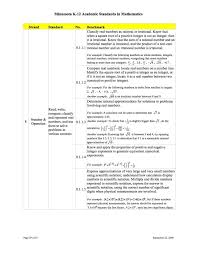 square root of 289 8g math standards rms math program information