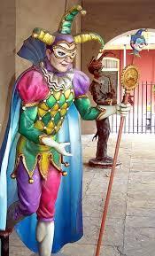 jester mardi gras jester outside mardi gras museum jesters pierrot clowns