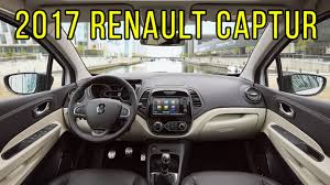 renault paris 2017 renault captur initiale paris interior design youtube