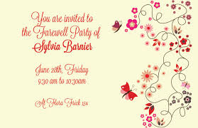 farewell gathering invitation office farewell clipart 37