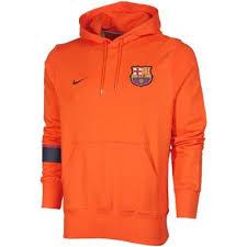 nike pullover sweater vida sports nike barcelona hoody safety orange
