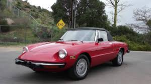 alfa romeo classic for sale 1974 alfa romeo spider roadster convertible stainless youtube
